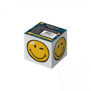 Herlitz Notes kostka 8x8x7cm SmileyWorld